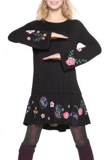 Desigual černé šaty Surat - S