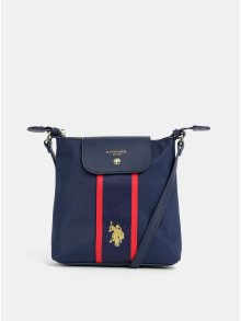 Tmavě modrá crossbody kabelka U.S. Polo Assn.