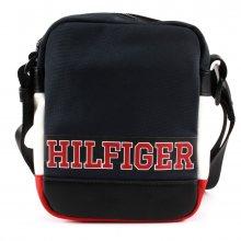 Tommy Hilfiger modrá crossbody unisex taška Varsity Nylon Mini Reporter