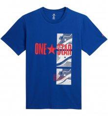Converse modré pánské tričko One Star - S