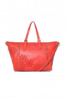 Desigual cihlově červená kabelka Dark Amber Verona