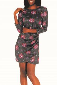 Culito from Spain barevné šaty Marce el Mapache - M
