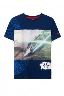 Desigual modré chlapecké tričko TS Rebel Star Wars - 5/6