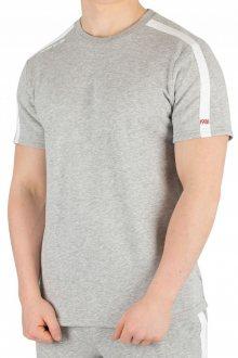 Calvin Klein šedé pánské tričko S/S Crew Neck - M