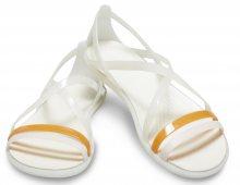 Crocs smetanové sandály Isabella Strappy Sandal Oyster - 36/37