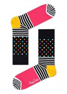 Happy Socks barevné ponožky Stripe Dot - 41-46