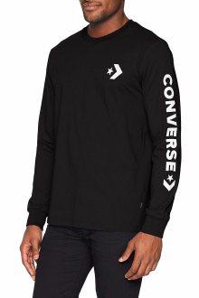 Converse černé pánské tričko Star Chevron s logem - S
