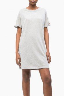 Calvin Klein šedé domácí šaty S/S Nightdress - XS