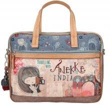 Anekke barevná taška na notebook India se dvěma kapsami