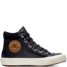 Converse černé kožené boty Chuck Taylor All Star PC Boot Hi Black - 29