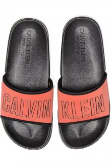 Calvin Klein neonově růžové pantofle Slide - 35/36