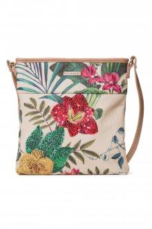 Desigual crossbody kabelka s květinovými motivy Clio Kaua