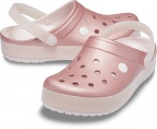 Crocs růžové pantofle Crocband Ice Pop Clog Barely Pink - 38/39