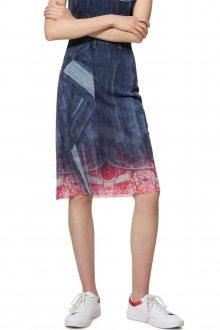 Desigual modrá sukně Fal Denia - M