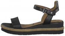 Tamaris Dámské sandále 1-1-28328-22-906 Black 37