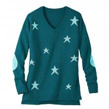 Blancheporte Žakárový pulovr s výstřihem do \