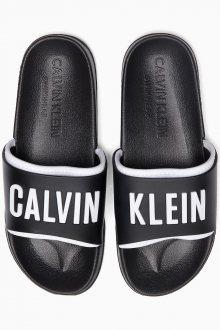 Calvin Klein černé unisex pantofle Slide Intense Power - 35/36