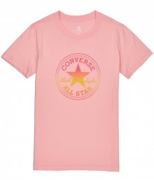 Converse lososové tričko Ombre Crewneck s logem - XS
