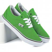 Parádní zelené tenisky s bílou podrážkou