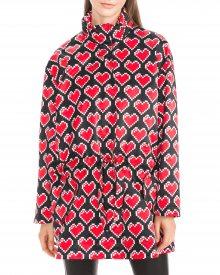 Kabát Love Moschino   Černá Červená   Dámské   S