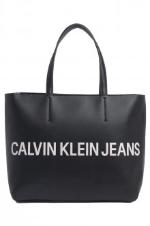 Calvin Klein černá kabelka EW Tote Black