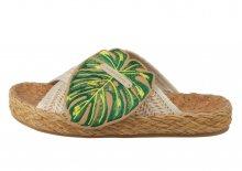 Scotch & Soda tropické pantofle Angle Ivory - 37