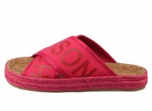 Scotch & Soda malinové pantofle Angle Tropical Pink - 37