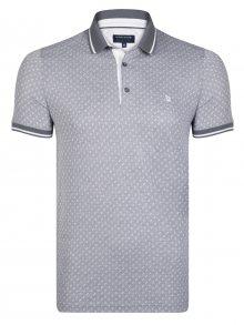 Giorgio Di Mare Pánské polo tričko GI5487127_Grey-White\n\n