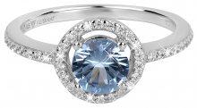Silver Cat Okouzlující prsten s krystaly SC293