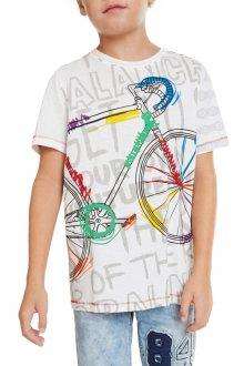Desigual barevné chlapecké tričko TS Liam - 7/8