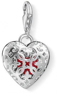 Thomas Sabo Stříbrný přívěsek Zamilovaný medailon 1313-007-10