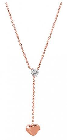 Troli Zamilovaný bronzový náhrdelník