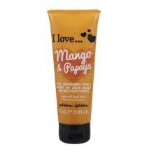 I Love Vyživující krém na ruce s vůní manga a papáji (Mango & Papaya Super Soft Hand Lotion) 75 ml
