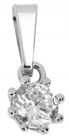 Brilio Silver Stříbrný přívěsek s krystalem 446 001 00232 04 - 0,50 g