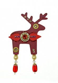 Deers Velký červený jelínek Milenia
