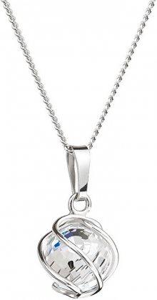 Preciosa Náhrdelník Romantic Beads Crystal AB 6715 42