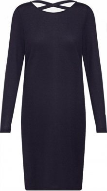 Jacqueline de Yong Dámské šaty Emily L/S Detail Dress Jrs Exp Night Sky XS
