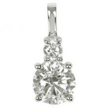 Silver Cat Stříbrný přívěsek s krystaly SC125