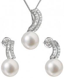 Evolution Group Souprava stříbrných šperků s pravými perlami Pavona 29037.1