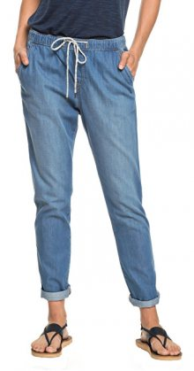 Roxy Dámské kalhoty Beachy Denim Pant ERJDP03206-BGY0 Medium Blue XS
