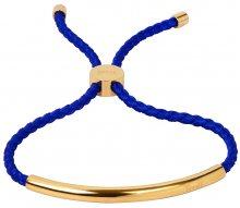 Troli Královsky modrý náramek s pozlacenou ozdobou TO2025
