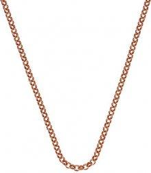 Hot Diamonds Stříbrný řetízek Emozioni Rose Gold Belcher 45 CH013