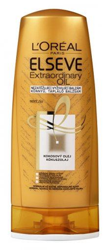 L´Oréal Paris Vyživující balzám s kokosovým olejem na normální a suché, nepoddajné vlasy Elseve (Extraordinary Oil) 400 ml