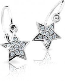 Cutie Jewellery Dětské náušnice C2228-10-X-2 bílá