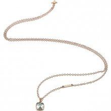 Guess Módní bronzový náhrdelník UBN83139