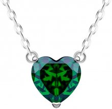 Preciosa Stříbrný náhrdelník Cher 5236 66