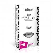 Andmetics Depilační pásky na horní ret pro ženy (Lip Wax Strips For Women)