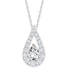 Preciosa Třpytivý náhrdelník Libra 5242 00 (řetízek, přívěsek)