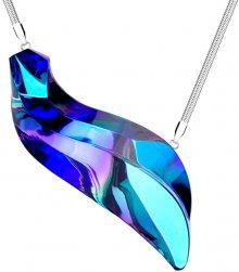Preciosa Extravagantní ocelový náhrdelník Delphinus 7336 46