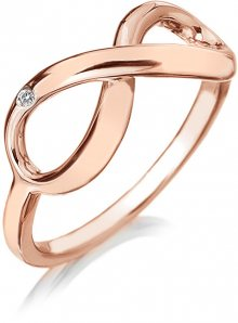 Hot Diamonds Bronzový prsten Infinity DR175 59 mm